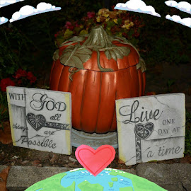 HOW TO LIVE LIFE by Rhonda Rossi - Artistic Objects Signs
