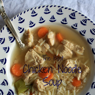 The Best Chicken Noodle Soup