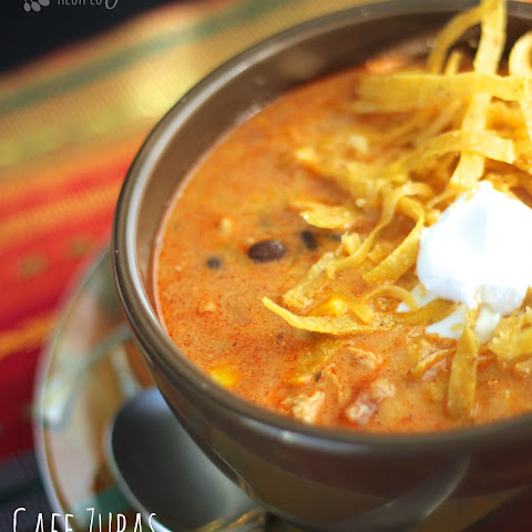 Our Version of Cafe Zupas Chicken Enchilada Chili