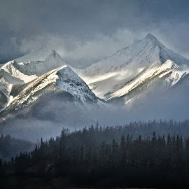After the Squall by Bruce Feldmeyer - Landscapes Mountains & Hills ( mountains, snow, squall, weather, landscape )