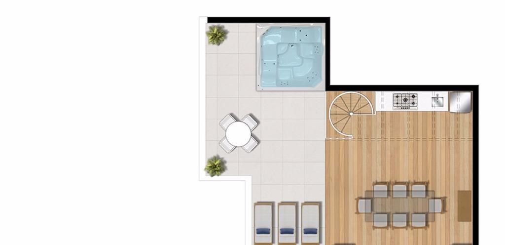 Planta Duplex Inferior - 2  Dormitóritos