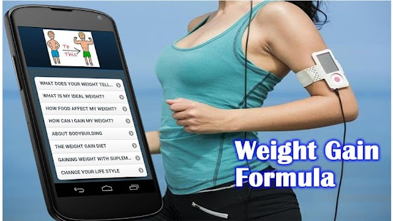 Weight Gain Formula - screenshot