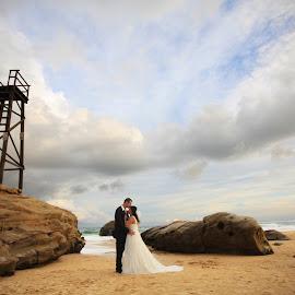 Quiet Moments by Heidi Gutry - Wedding Bride & Groom