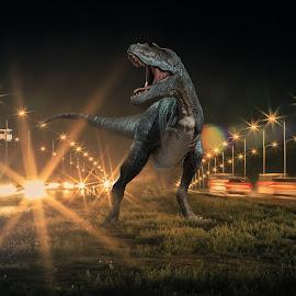 by Steel Hero - Digital Art Animals