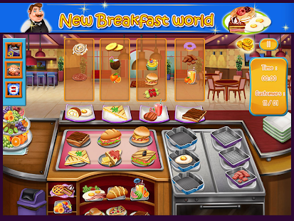 Game Kitchen Fever Master Cook APK for Windows Phone