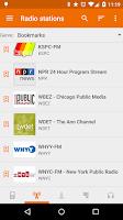 Screenshot of Public Radio & Podcast