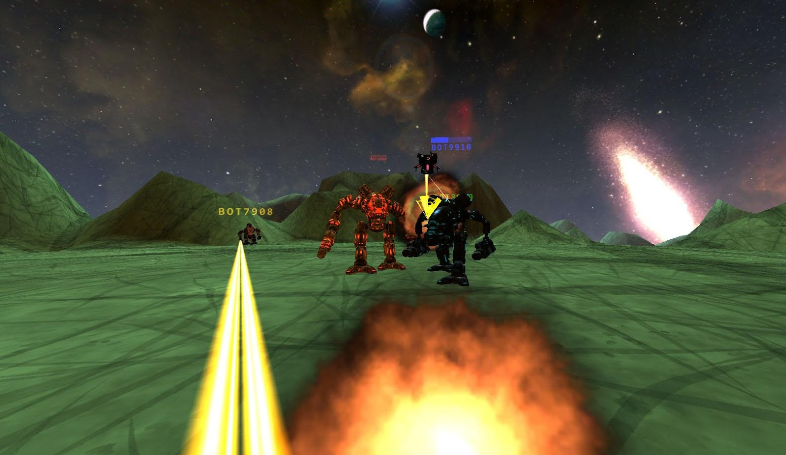 Galaxy VR Virtual Reality Game Screenshot 5