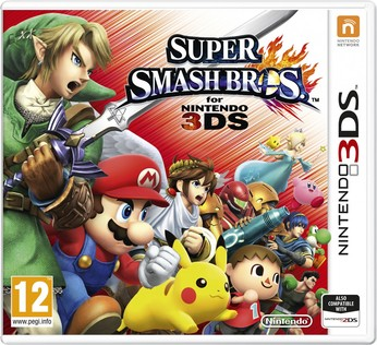 Super Smash Bros. for Nintendo 3DS - box art