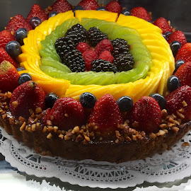 Delicious Fresh Fruit Tart by Lope Piamonte Jr - Food & Drink Cooking & Baking