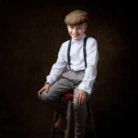 Fine Art Portrait Ben  by Jude Stewart - Babies & Children Child Portraits ( judithstewart, eastsussex, fineart,  )
