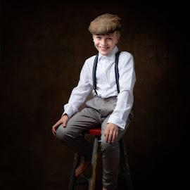 Fine Art Portrait Ben  by Jude Stewart - Babies & Children Child Portraits ( judithstewart, eastsussex, fineart,  )