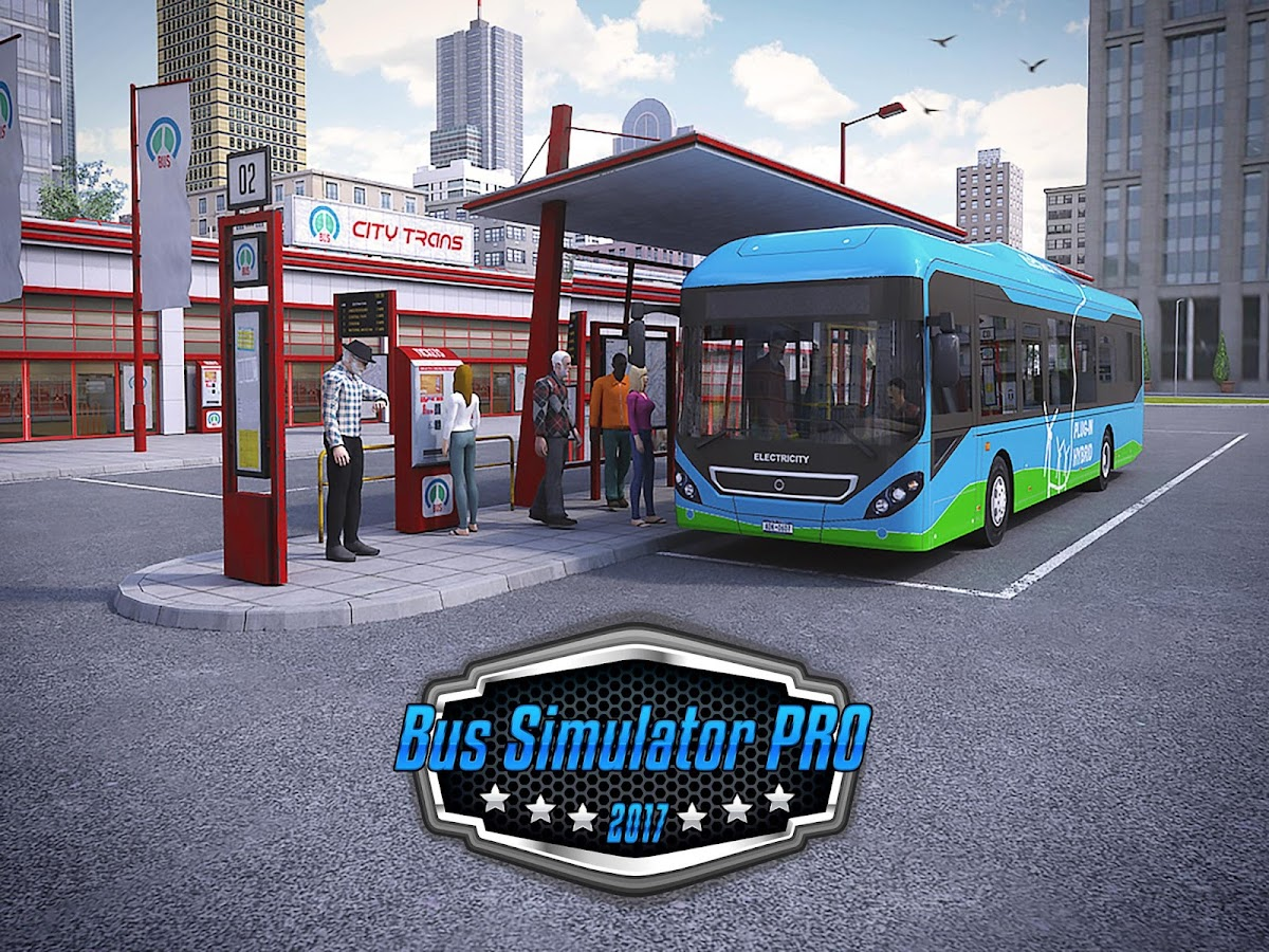 Bus Simulator PRO 2017 Screenshot 0