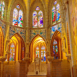 palacio de Gaudi, Astorga - León by Roberto Gonzalo Romero - Buildings & Architecture Places of Worship ( astorga, gaudi, leon, palacio )