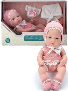 """Пупс серии """"Anna de Wailly"""" original 30 см, со вторым комплектом одежды, розовый"""