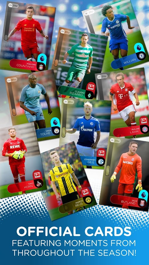KICK: Football Card Trader Screenshot 1