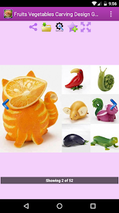 Fruits Vegetables Carving - screenshot