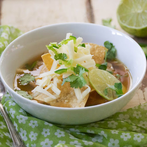 Sopa De Lima (Mexican Chicken Lime Soup)