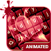 Love Flames Animated Keyboard + Live Wallpaper Icon