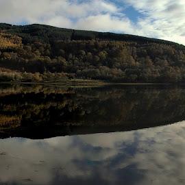 Loch Fyne Panorama by Bill Lighterness - Landscapes Waterscapes ( loch fyne panorama, argyll & bute, loch fyne )