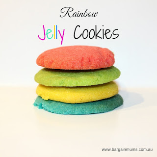 Rainbow Jelly Cookies