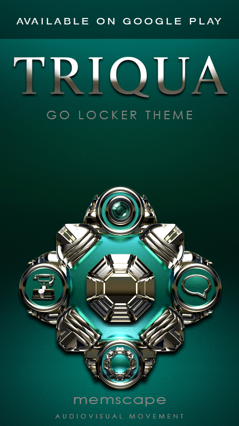 TRIQUA Next Launcher 3D Theme Screenshot 7