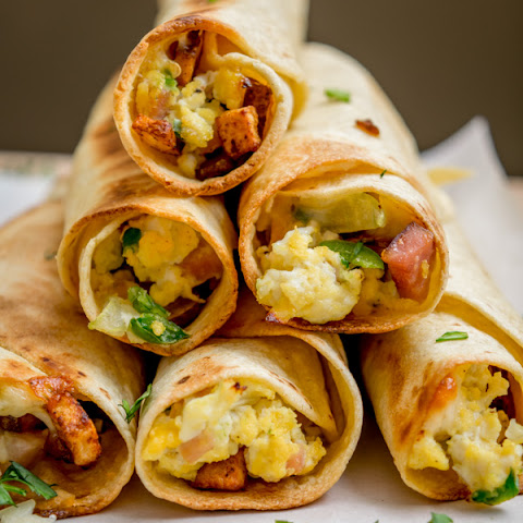 Mexican Breakfast Taquitos