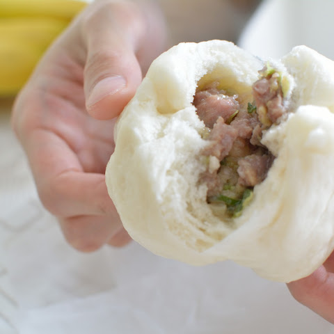 Nikuman (Chinese Steamed Pork Buns)