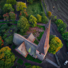by Nikos Diavatis - Buildings & Architecture Public & Historical ( mavic, hdr, church, dramatic, aerial )