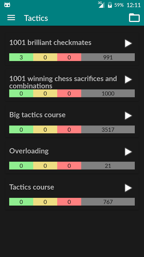 Perfect Chess Trainer Screenshot 3
