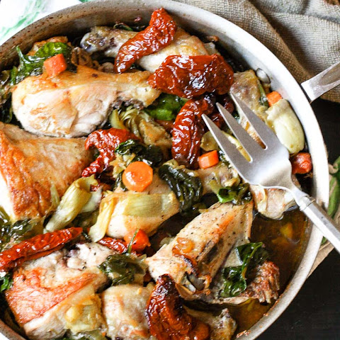 Chicken With Artichokes And Sun Dried Tomatoes