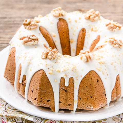 Bourbon Walnut Pound Cake