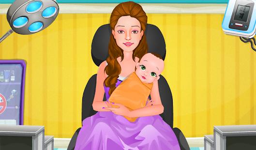 Врач для беременных играть