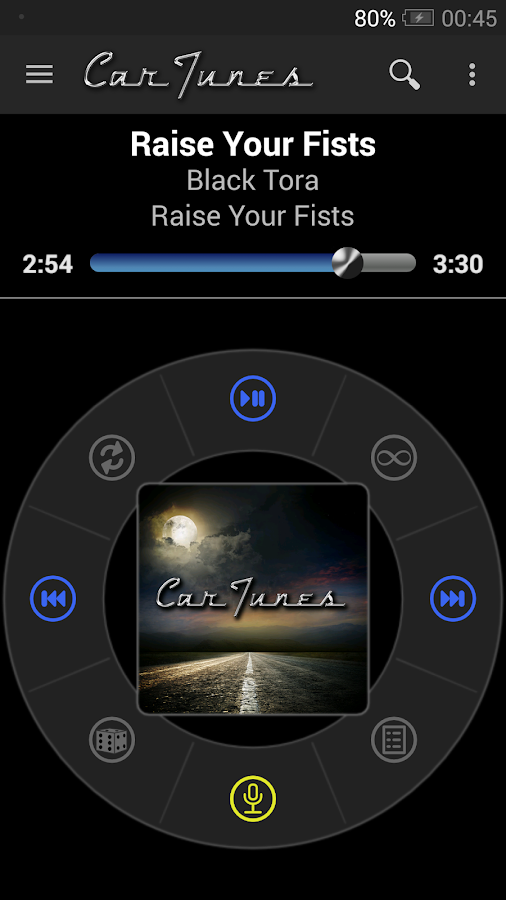 Car Tunes Music Player Pro Screenshot 0