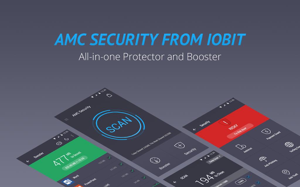 AMC Security - Antivirus Boost screenshots