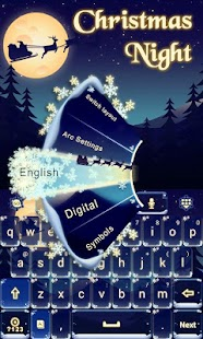 Christmas-Night-Keyboard-Theme 3