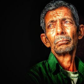 GUILT by Prashant Singh - People Portraits of Men