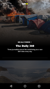NYT VR – Virtual Reality Screenshot