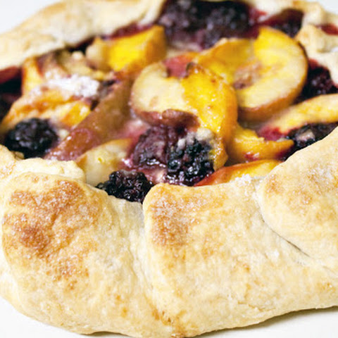 Blackberry Peach Galette