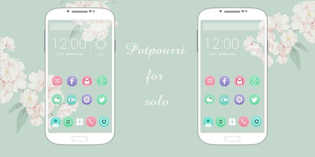 Potpourri-Solo Theme - screenshot
