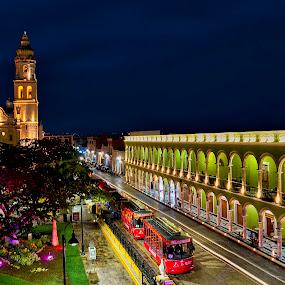 Campeche MX by Andrius La Rotta Esquivel - City,  Street & Park  City Parks ( amazing, beautiful, street scene, city park, photo, photography )
