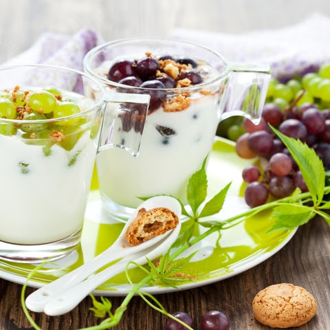 Creamy Grape Summer Dessert