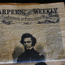Daily Paper  by Jeff Brown - Artistic Objects Antiques ( history, paper, 1800's, artistic objects, daily )