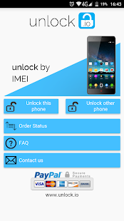 Unlock your ZTE phone - screenshot