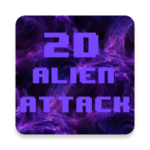 2D Alien Attack - Retro Action