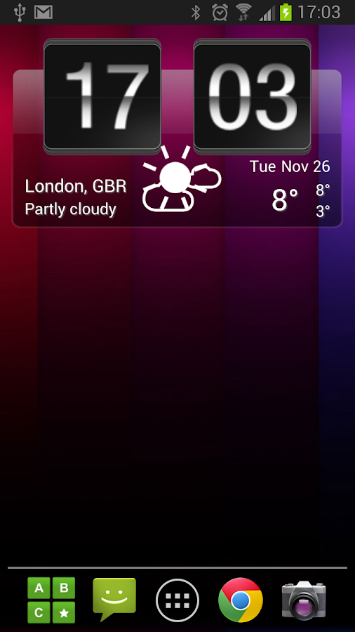 Sense Flip Clock & Weather Pro Screenshot 6