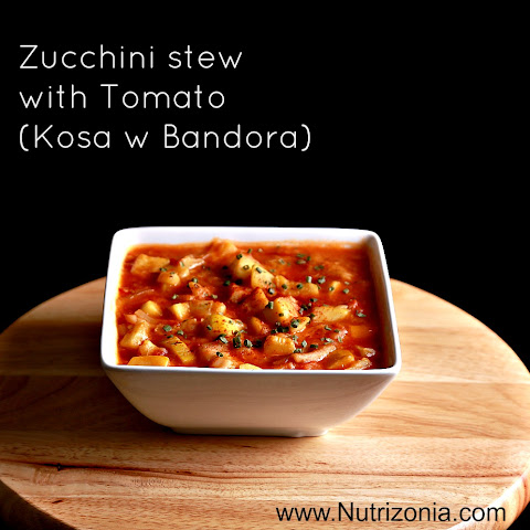 Zucchini With Tomato Stew