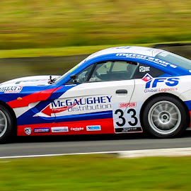 Ginetta #33 by Martin Thomson - Sports & Fitness Motorsports ( junior, btcc, ginetta, knockhill, race )