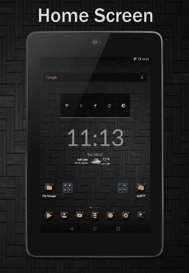Black Gold CM12 CM13 Screenshot 12