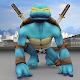 Turtle Superhero Monster Warrior