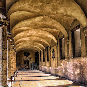 Arches by Wael Onsy - Buildings & Architecture Architectural Detail ( rome, arches, architecture, italy )